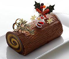 糖質制限クリスマスケーキ 【ブッシュドノエル風ショコラロール】