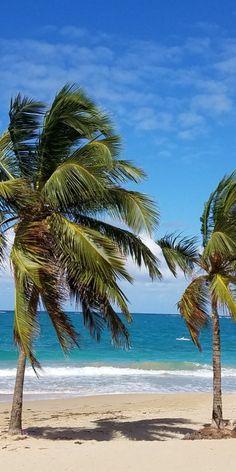 Isla Verde Beach, Carolina, Puerto Rico -------------- #caribbean #beaches #coast #vacation #travel