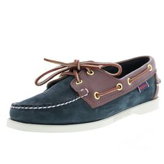 Sebago - Women's Spinnaker Boat Shoe - Blue/Chestnut