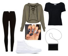 """""""Untitled #43"""" by chett3576 on Polyvore featuring Vans, Frame, River Island and Nine West"""