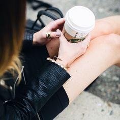 Nothing like Starbucks on a gloomy morning... #butfirstcoffee #jewels #styledbyNOIR