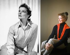 Katherine Hepburn: Fashion icon and hero.