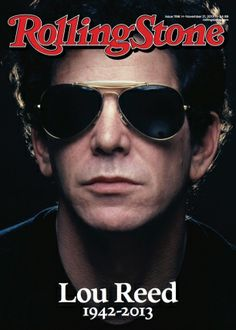 Lou Reed is on the cover of our November 21, 2013 issue. Here's how we're honoring the outsider who changed rock: http://rol.st/1grvpVR