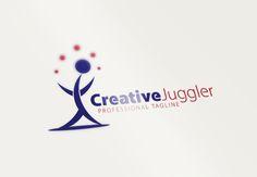 Creative Juggler Logo by CreativeDezing on @creativework247