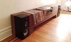 Vinyl-Aufbewahrung