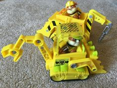Paw Patrol Rubble Jungle Rescue Bulldozer Toy
