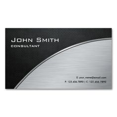Professional Elegant Modern Silver Computer Repair Double-Sided Standard Business Cards (Pack Of 100). Make your own business card with this great design. All you need is to add your info to this template. Click the image to try it out!