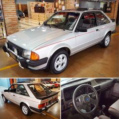 Ford Escort XR3 🇧🇷 1986 Vintage Cars, Antique Cars, Volkswagen, Ford Company, 1990s Cars, Custom Muscle Cars, Subaru, Ford Escort, Volvo