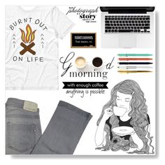 """""""Burnt out on life"""" by selmagorath ❤ liked on Polyvore featuring Comptoir Des Cotonniers, GE and LULUS"""