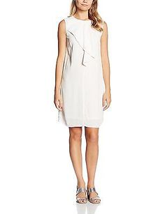 UK Twin-Sets, Off-White - Elfenbein (Ice 1053), Saint Tropez Women's N6135 Dress
