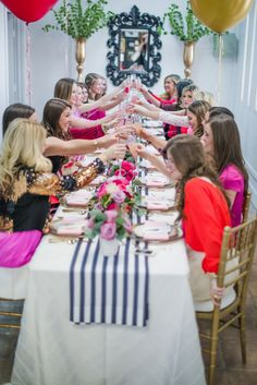 A Valentine's Day Friendship Brunch | theglitterguide.com