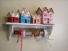 Love shacks- hollyhocks-honeybees.blogspot.com