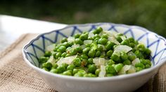 Simple Peas and Onions