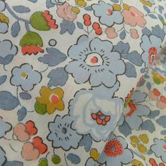 Betsy Blue - Love this from Tessuti Fabrics