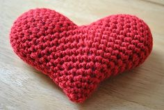 Crotchet heart