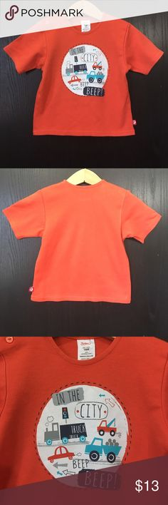 18M Zutano infant boys graphic T-shirt Great condition Zutano Shirts & Tops Tees - Short Sleeve