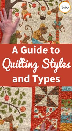 While there are many different ways to quilt a quilt, the type of quilting done can be categorized into three main quilting styles. ZJ Humbach shares what these quilting styles are and shows examples of each.