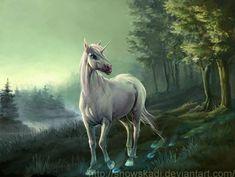Unicorn 4 by ~SnowSkadi on deviantART