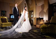 This is a wedding photo but its in the Hubbard Room of Blackstone Hotel. I like this.