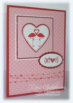 Valentine Card using Stampin Up Valentine Defined