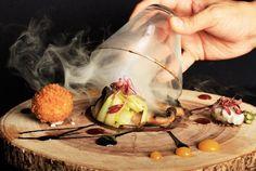 Adara Smokey Forest - lavender smoke, porcini soil, arugula sphere