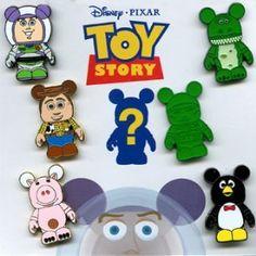 Disney 7 Pin Vinylmation Toy Story Booster Set + Chaser Pin 80596 Disney http://www.amazon.com/dp/B004VMER7K/ref=cm_sw_r_pi_dp_IJvuub0Q8WZ6X