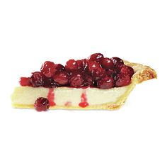Cranberry Custard Pie- sounds like a delicious newcomer to the holiday pie scene!