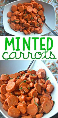 Minted Carrots #inth