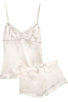 Bodas|Silk-satin pajama set