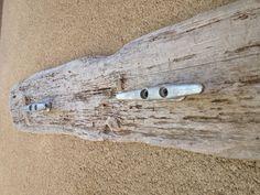 Driftwood Towel Rack Coat Hook Cleat by HudsonsDrift on Etsy, via Etsy.