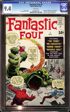 The Worlds Most Expensive Comic Book Art - Fantastic Four #1