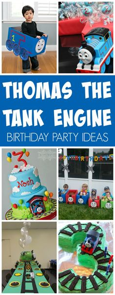 15 Terrific Thomas The Train Party Ideas | Pretty My Party