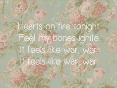 A Love Like War Lyrics A love like war lyrics all