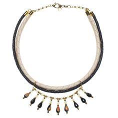 Cherry Blossom necklace //   La Raffinerie FW2012-2013  http://www.laraffinerie.ca/products/cherry-blossom  #fall #statementjewelry