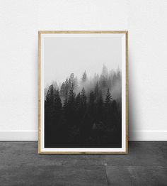 Black and White Prints, Black and White Images, Printable Artwork Set, Ombre Impact, Circle Print, Minimalist Artwork, Forest Print, Timber. ** Learn even more by visiting the image link