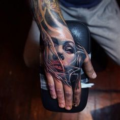 Hand banger by QTattoo Lee