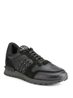 Valentino sneaks bring the rockstud to his feet.