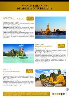Avance Precios Tailandia de Abr a Oct 2014. Recorriendo Tailandia con Thai Airways desde 1.747 € - http://zocotours.com/avance-precios-tailandia-de-abr-a-oct-2014-recorriendo-tailandia-con-thai-airways-desde-1-747-e/
