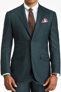 Lecce - Dark Green Suit