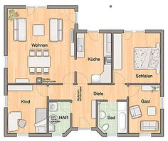 Grundriss EG - Variante Gäste-WC | haus | Pinterest | Country and ...