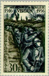 Verdun: Foot soldiers in the trench
