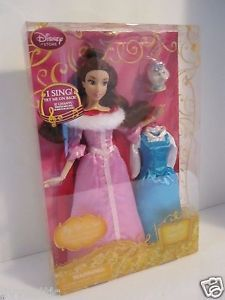 Disney-Store-Belle-Singing-Doll-and-Costume-Set-11-1-2-Something-There-NIB