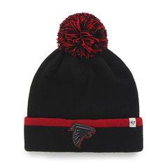 quality design c7dc1 3a331 Atlanta Falcons Baraka Cuff Knit Black 47 Brand Hat