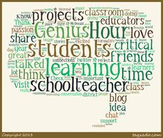 """""""Genius Hour"""" ...devoting time to projects built from kids' passions"""