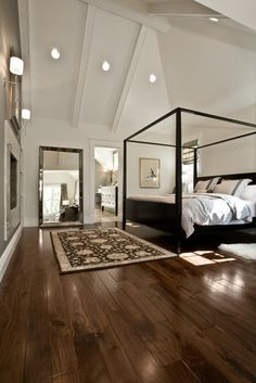 Douglas master bedroom, Salt Lake City. B.Design.