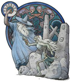 Odin Raises the Prophetess: https://m.facebook.com/story.php?story_fbid=1348260361870295&substory_index=0&id=129784597051217