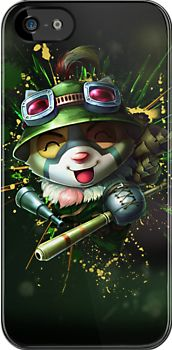 """""""Teemo - League of Legends"""" iPhone & iPod Cases by Hackha   Redbubble"""