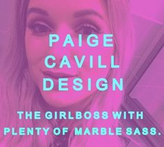 An interview with @paigecavilldesign