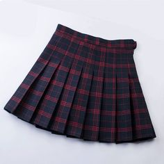 Girly Outfits – Page 3413592325 – Lady Dress Designs Pleated Skirt Pattern, Plaid Pleated Mini Skirt, Mini Skirt Dress, Box Pleat Skirt, Girly Outfits, Skirt Outfits, Pretty Outfits, Beautiful Outfits, Cute Outfits