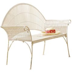 I pinned this Evonne Garden Bench from the CBK event at Joss and Main!